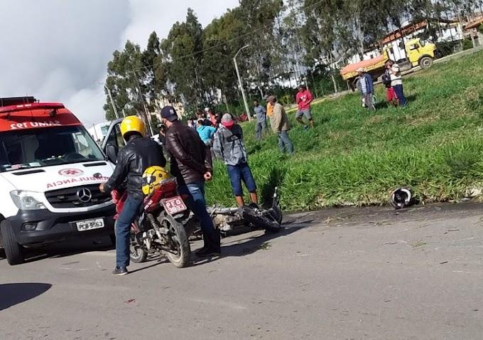 Colisão entre moto e caminhonete mata mulher e deixa homem ferido na br-424, em Garanhuns