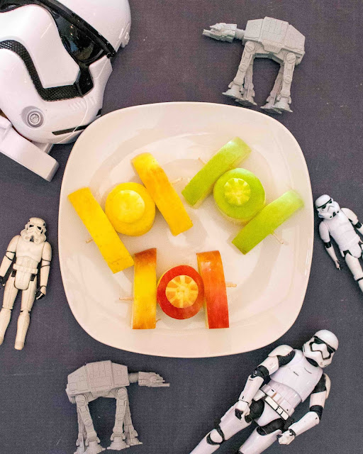 How to Make Star Wars Apple TIE Fighters!