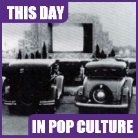 The first drive-in theater opened June 6, 1933.