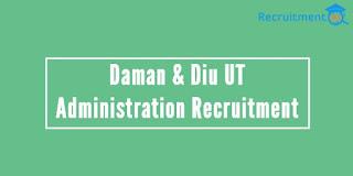 UT Admin. Daman & Diu Recruitment 2017 - 164 Police Constables