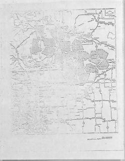 Missile Sites Map In Nebraska F.E. Warren AFB 1965
