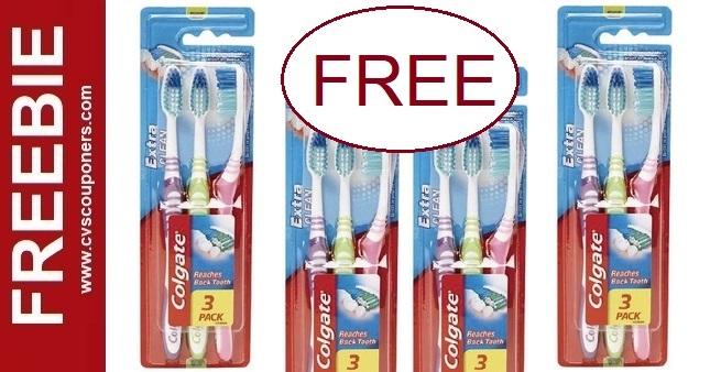 FREE Colgate Toothbrush CVS Deals 7-12-7-18