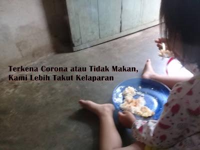 Cerpen Corona Singkat, Terkena Corona atau Tidak Makan, Kami Lebih Takut Kelaparan