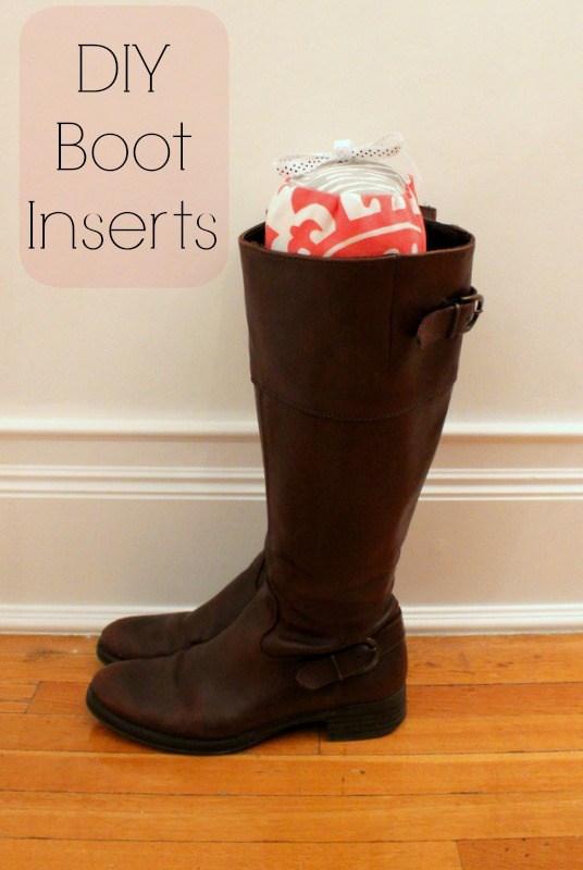 DIY boot inserts