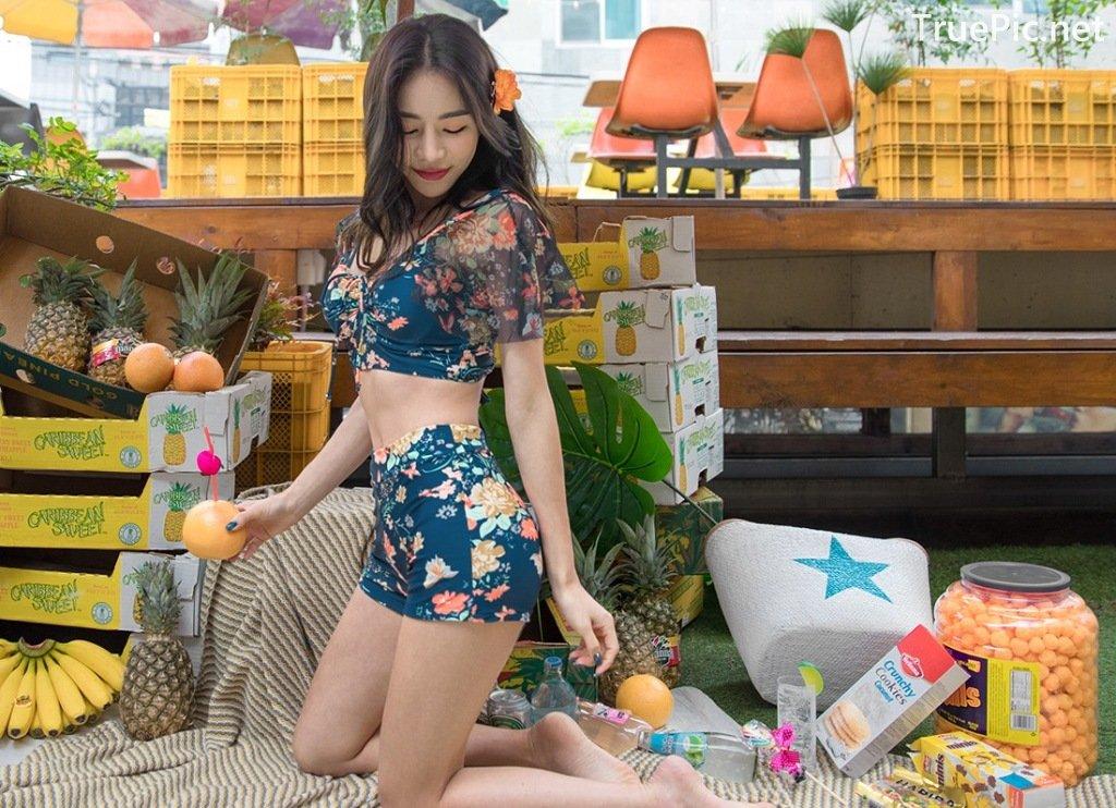 Image-An-Seo-Rin-Flower-and-Butterfly-Bikini-Korean-Model-Fashion-TruePic.net- Picture-3