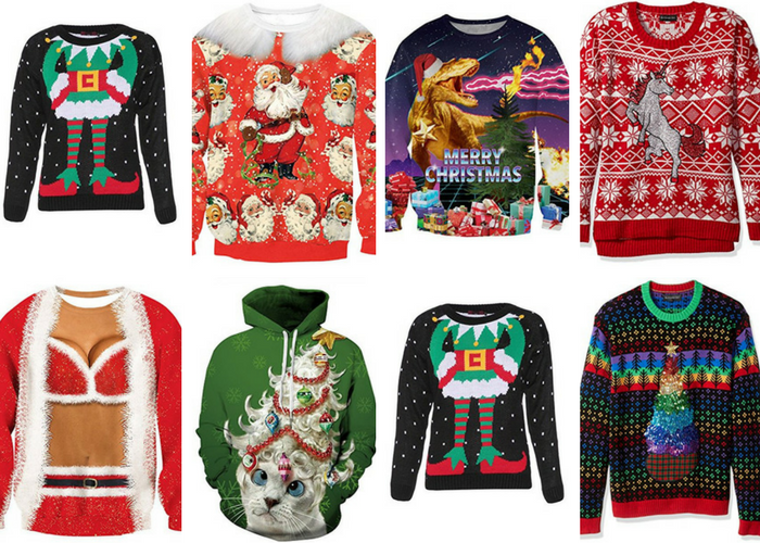 ugly christmas sweaters for men women