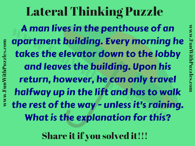 Lateral Thinking Puzzle for Kids