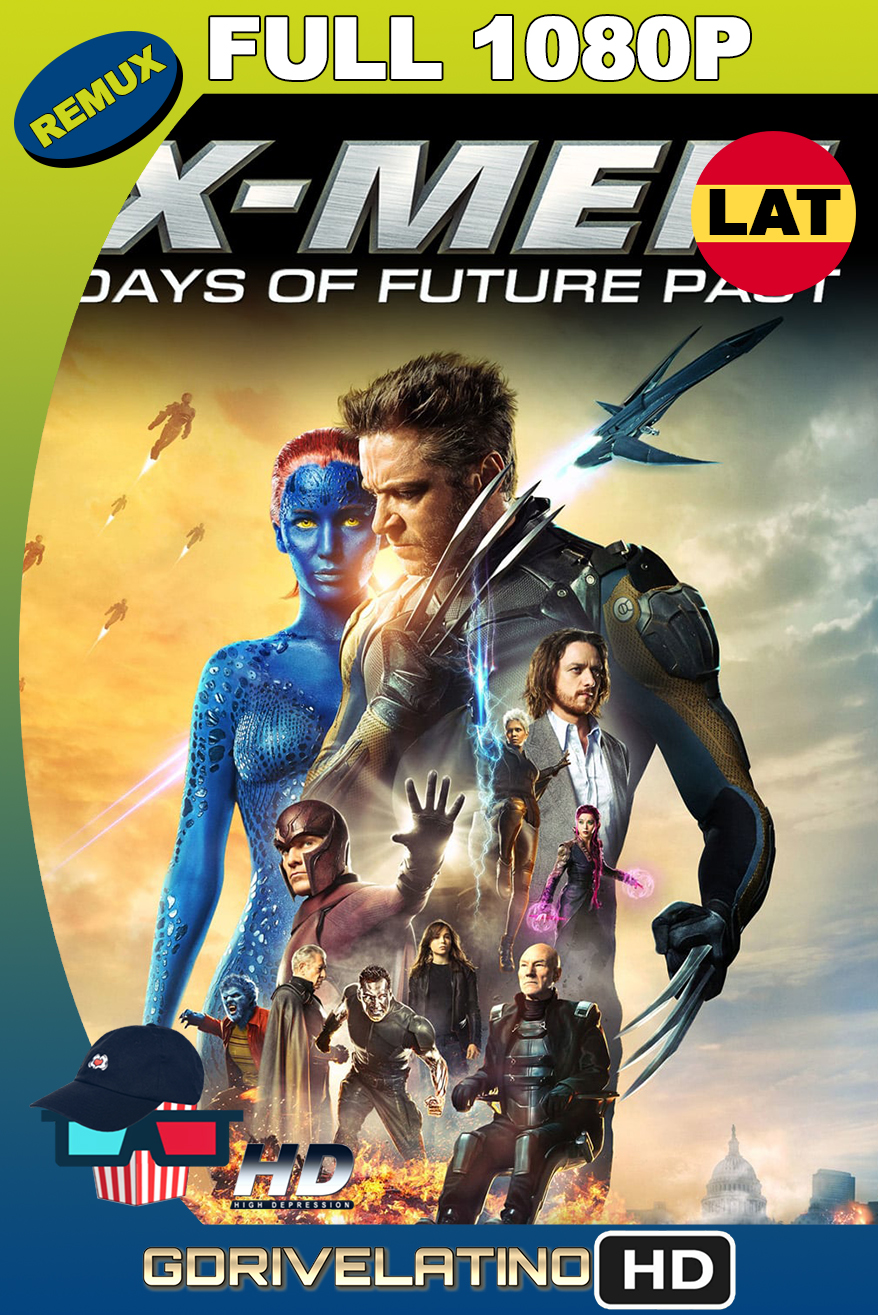 X-Men Días del Futuro Pasado (2014) THEATRICAL CUT BDRemux 1080p Latino-Ingles MKV