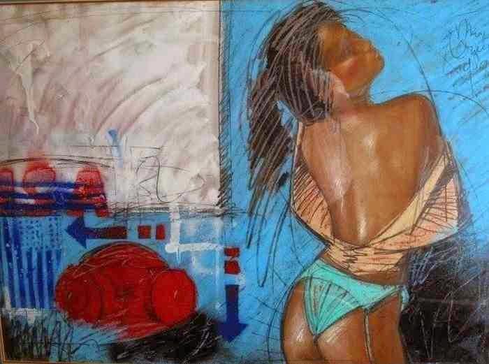 Жена и муза. Nico Vrielink