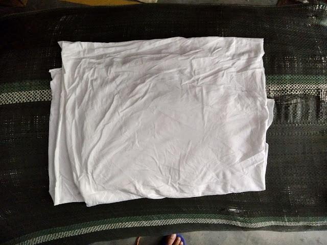 vải lau trắng khổ A4, Vải lau nguyên mảnh
