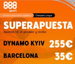 888sport superapuesta Dynamo vs Barcelona 24 noviembre 2020
