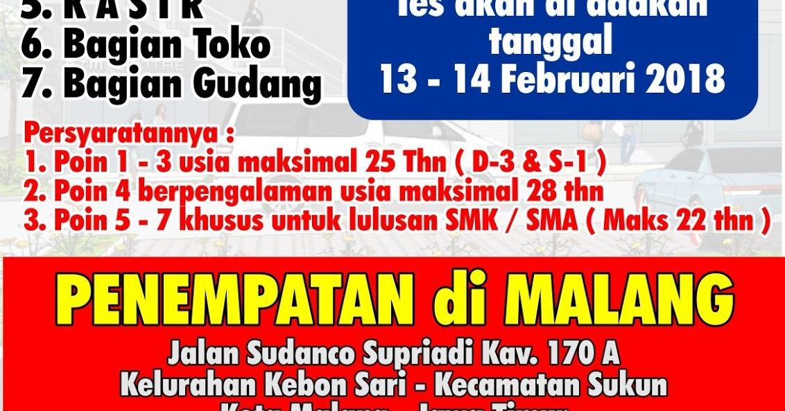 Lowongan Kerja Di Indogrosir Malang Spv Toko Gudang Assistent Supervisor Kepala Ass Kepala Kasir Bagian Toko Gudang