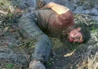 Dejan dos hombres ejecutados y uno maniatado en Michoacan este Miercoles