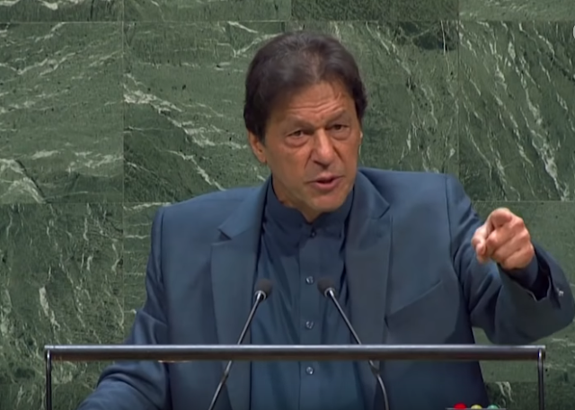 PM Imran Khan on Kashmir