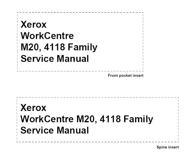 Xerox WorkCentre 4118 Service Manual