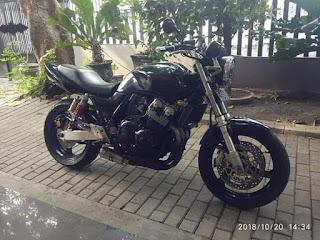 Dijual Cepat Honda CB 400 2001 No Papa