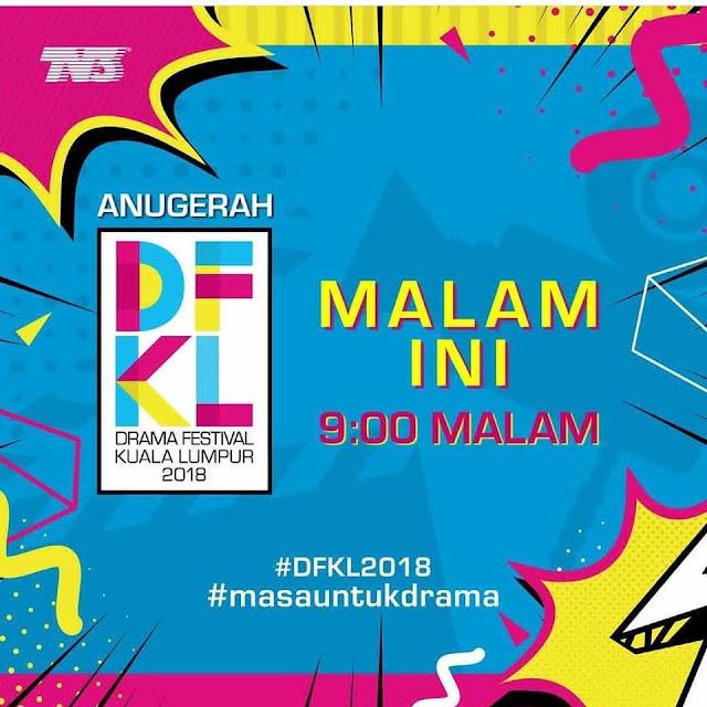 Keputusan Dan Senarai Pemenang Drama Festival Kuala Lumpur (DFKL 2018)
