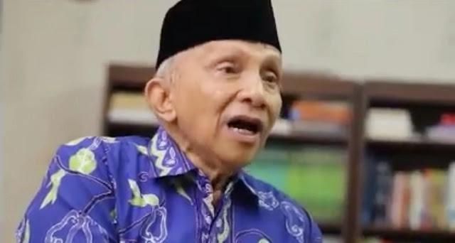 Amien Rais Ngaku Sudah Dipecat dari PAN: Saya Tidak Setuju Dukung Rezim yang Tidak Ketulungan Itu