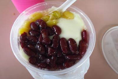 Whampoa Soya Bean & Grass Jelly Drinks, tau huay ginko nuts red bean