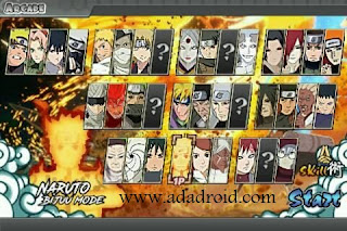 Download Naruto Senki Mod Legendary Shinobi War V5