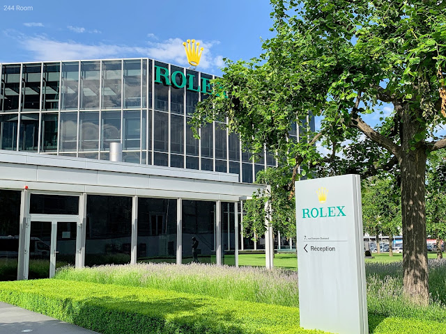 ROLEX World Headquarters sign