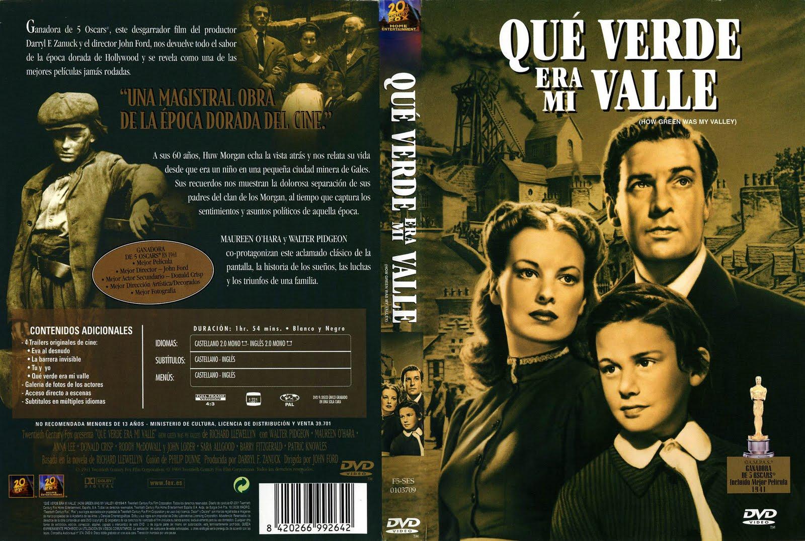 Qué Verde Era Mi Valle 1941 Descargar Y Ver Online
