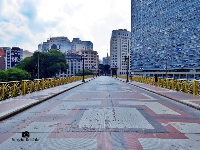 Viaduto Santa Ifigênia durante a quarentena - São Paulo