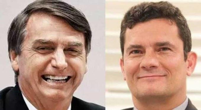 """Moro diz que irá refletir sobre convite de Bolsonaro: """"Honrado"""""""
