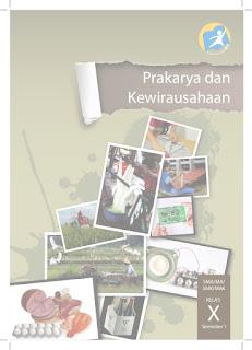 Buku Siswa Prakarya dan Kewirausahaan Kelas X Semester 1 K13