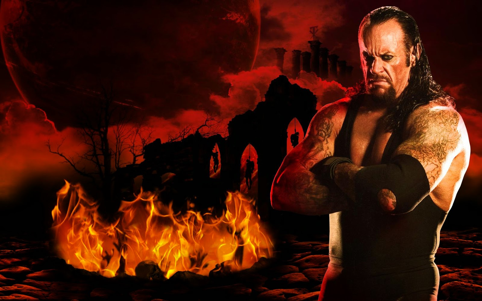 Undertaker Hd Wallpapers Free Download WWE HD WALLPAPER