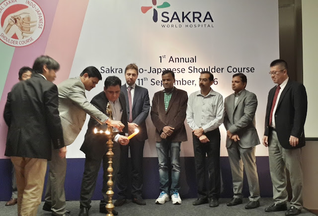 Sakra World Hospital Organises First Annual Indo-Japanese Shoulder Course