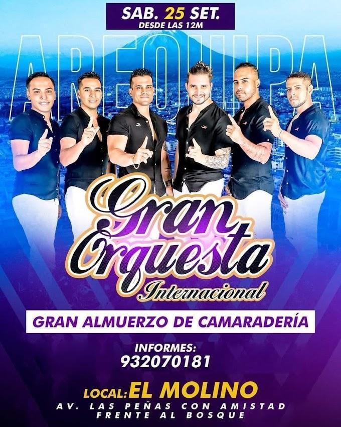 La Gran Orquesta Internacional en Arequipa 2021 - 25 de setiembre
