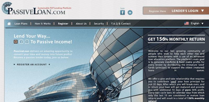[SCAM] Review Passive Loan - Lãi ngày 5.2% trong 30 ngày - Đầu tư tối thiểu 25$ - Thanh toán Manual
