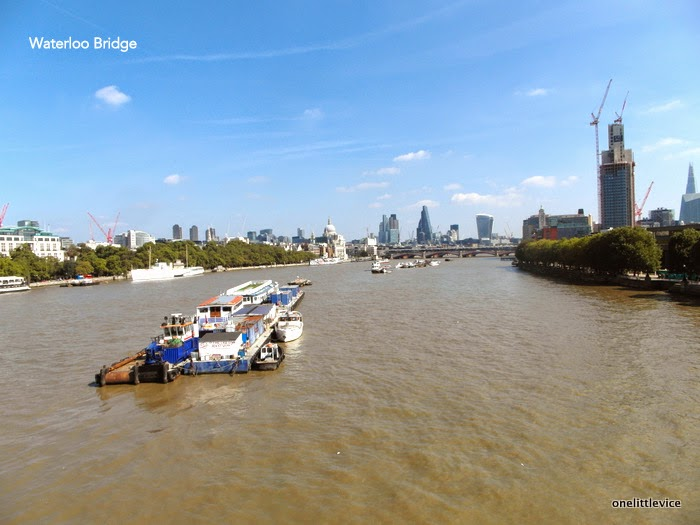 london bridges in summer