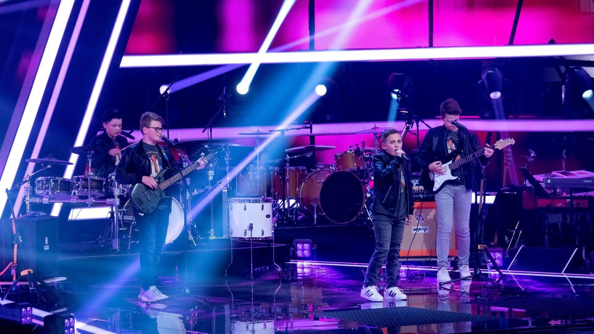 Rock-Klassiker T.N.T. | The Voice Kids 2021