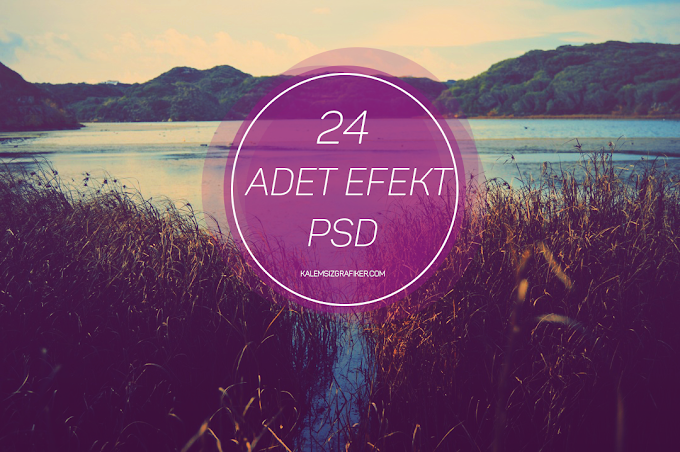 24 Adet Efekt PSD
