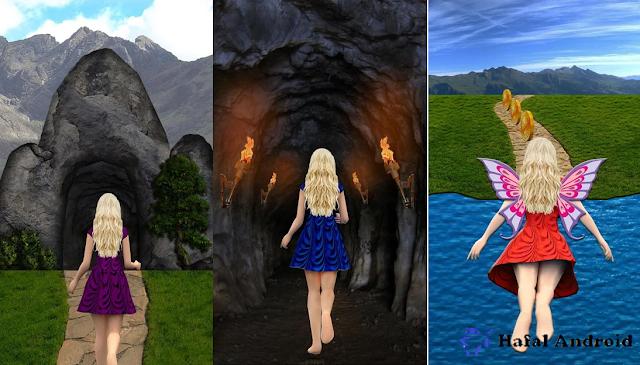 Game Petualangan Barbie Flying Girl Runner