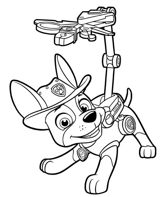 Paw patrol coloring pages 23