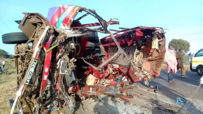 Too Bloody: 30 Die in New Year's Eve Road Accident After Bus and Truck Collided