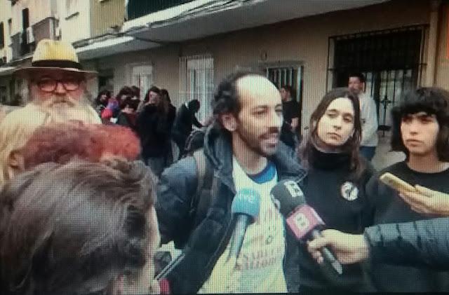 Detienen a Joan Segura, portavoz de STOP Desahucios Mallorca