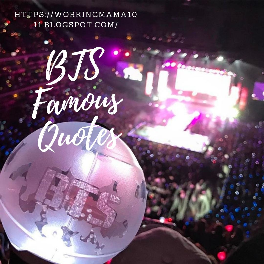 tickled life bts famous quotes