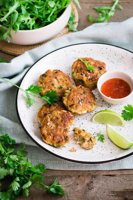 Croquettes de poisson thaïes