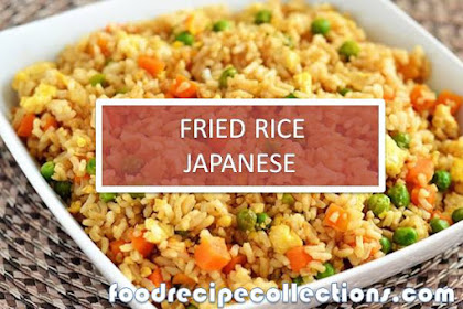 FRIED RICE JAPANESE RECIPE FOR DELICIOUS BREAKFAST