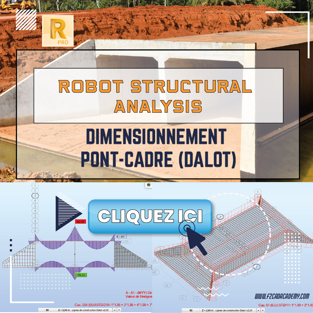Dalot sur Robot structural analysis