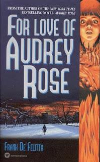 For love of Audrey Rose. Frank De Felitta. Editora Warner Books. Julho de 1982. Capa de Charles Moll.