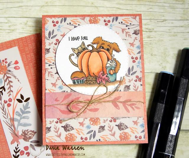 Dana Warren - Kraft Paper Stamps - Not 2 Shabby