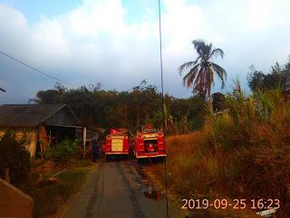 Kebakaran Lahan: Buat Warga Joglo Panik