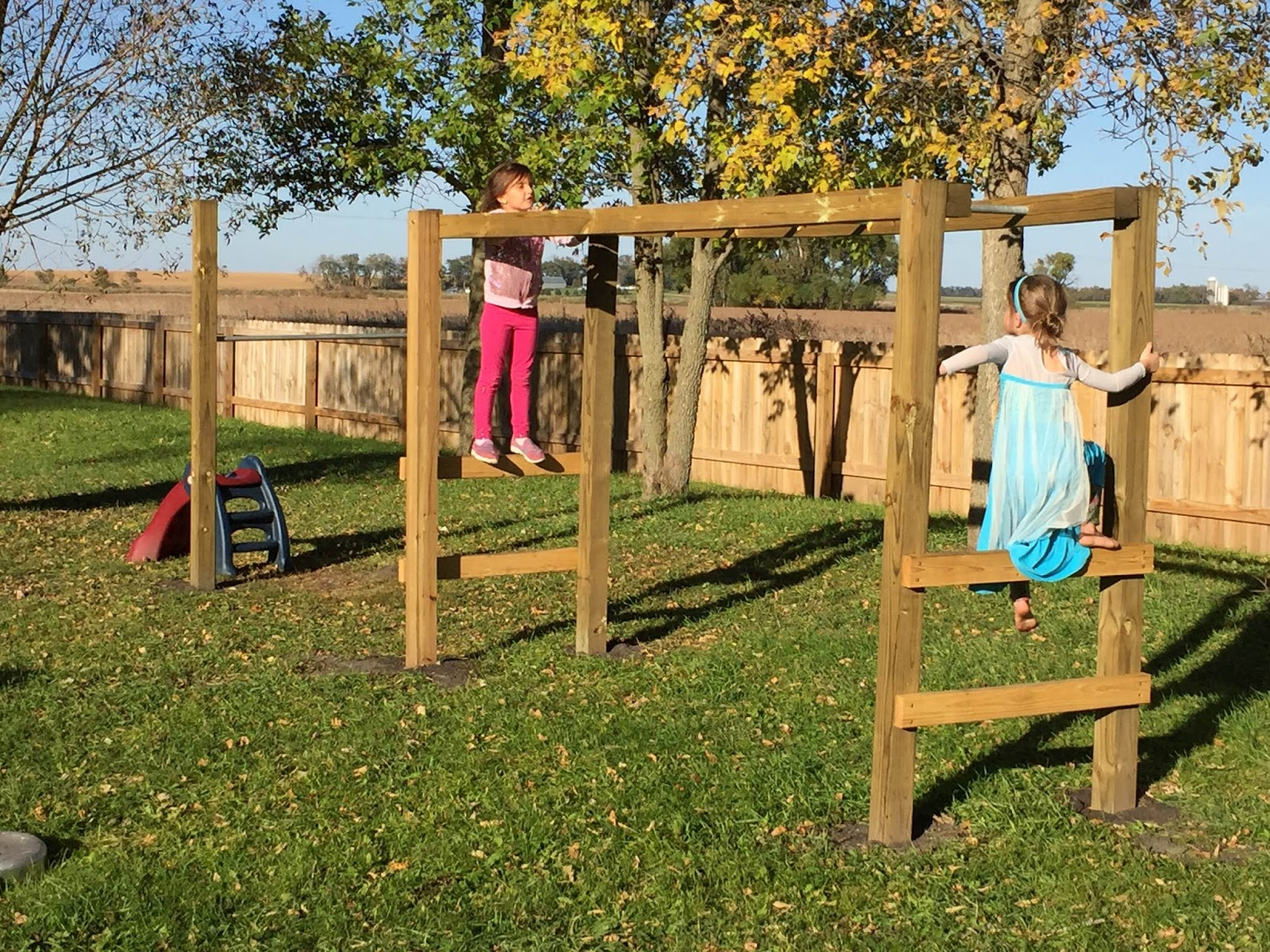 The Dabbling Crafter Diy Monkey Bars