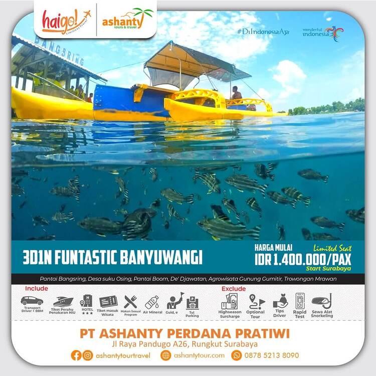 paket wisata pulau merah banyuwangi dari surabaya, paket wisata ke banyuwangi dari surabaya