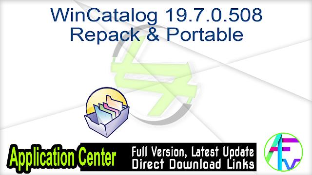WinCatalog 19.7.0.508 Repack & Portable